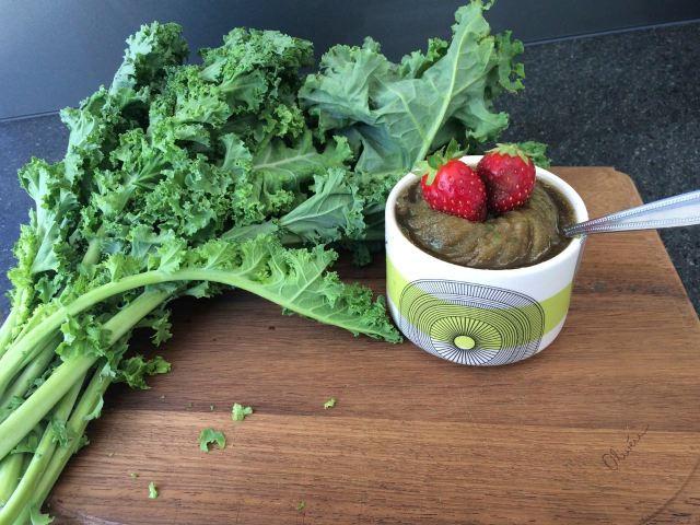 Watermelon & Kale Slushie